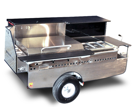 Mobile food cart - Chef