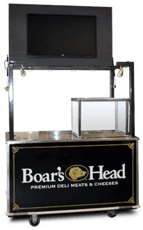Boar's Head concession cart