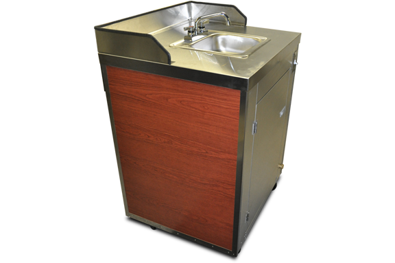 concession cart portable hand sink