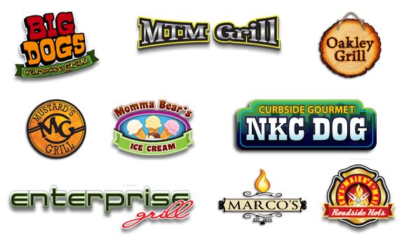 hot dog cart logos