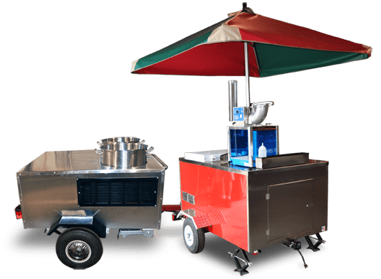Specialty food vending carts