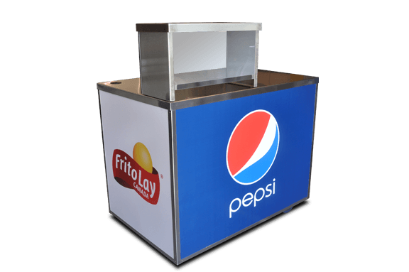 merchandise cart - portable concession support cart