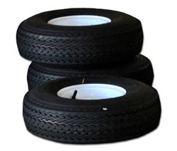 mobile food cart tire