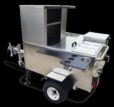 Vendor Hot Dog Cart