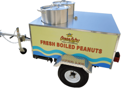 Boiled Peanut Cart Graphics