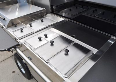 Steam Tables with Hinged Lid Pans