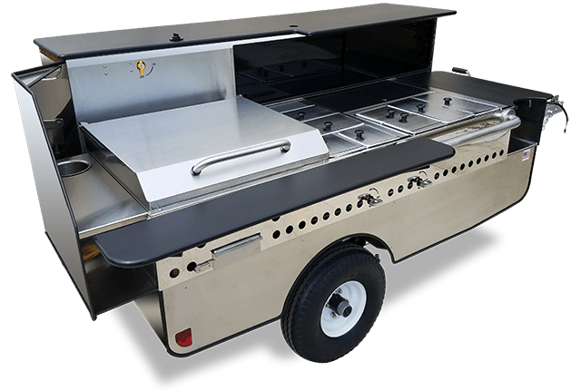 Chef mobile food cart