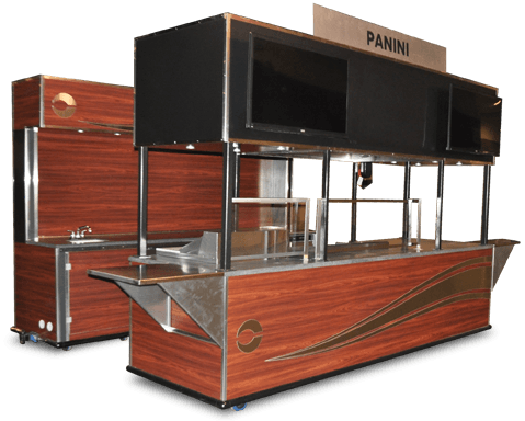 view custom Concession Carts