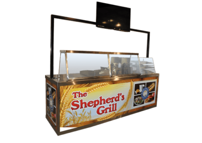Custom Concession Cart