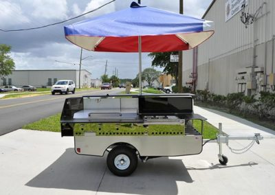 Executive Mobile Food Cart