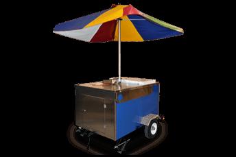 Italian ice cart