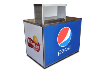 Merchandise Concession Cart