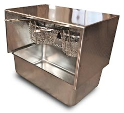 Mobile Food Cart Fryer