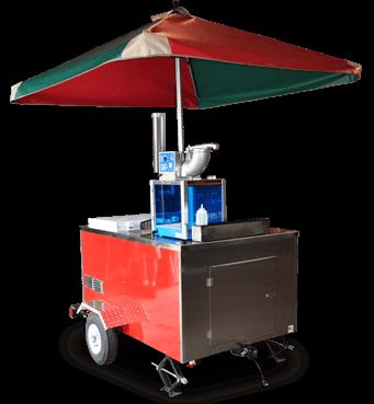 Sno-Cone Cart with Umbrella
